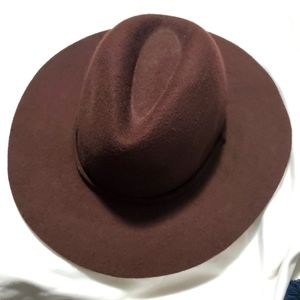 J. Crew Brown Wool Hat Size S-M